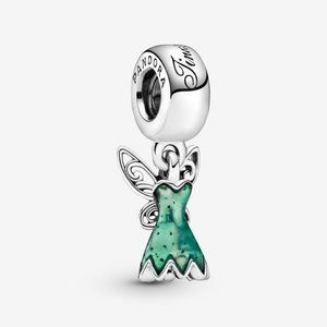 Pandora Disney Peter Pan Tinkerbell's Dress Dangle